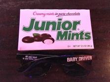 Junior Mints and Sunglasses. What more do you need?